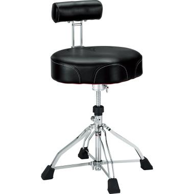 Tama 1st Chair Wide Rider Drum Throne W/Back Rest