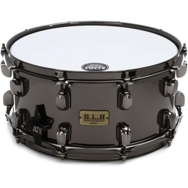 Tama SLP 14×6.5in Black Brass Snare