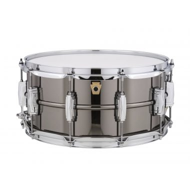 Ludwig Black Beauty 14×6.5in Brass Snare, LB417