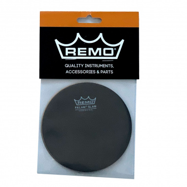 Remo 4in Falam Single Slam Patch – 2 Pack