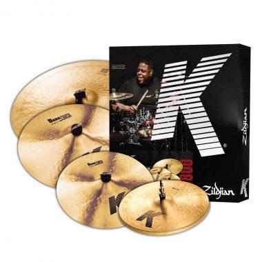 Zildjian K0800 K Cymbal Set with FREE 18″ K Dark Thin Crash