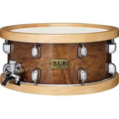 Tama SLP 14×6.5in Studio Maple Snare Drum with Wood Hoops