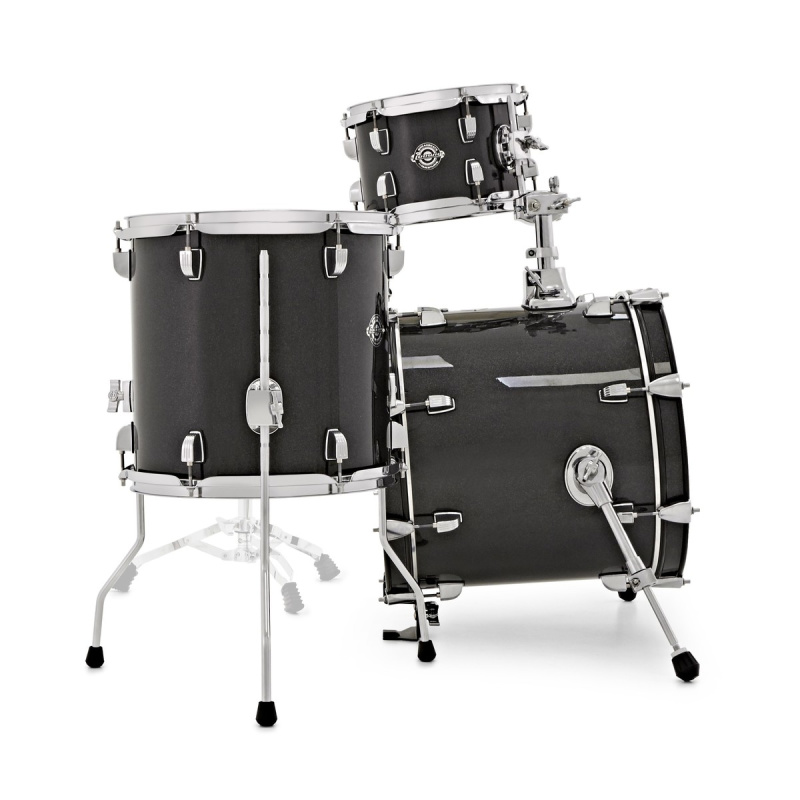 Ludwig Breakbeats Questlove 16in 4pc Shell Pack – Black Gold Sparkle