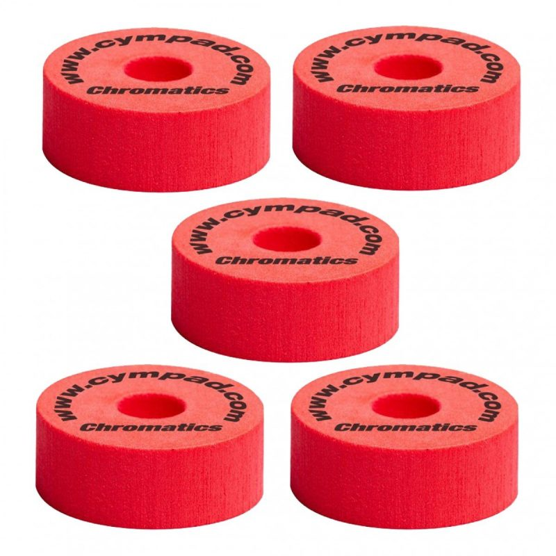 Cympad Chromatics 40/15mm 5 Pack – Red