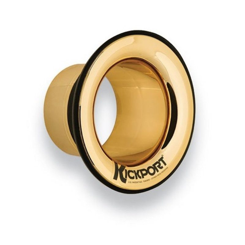 KickPort 2 Bass Drum Sound Hole – Gold