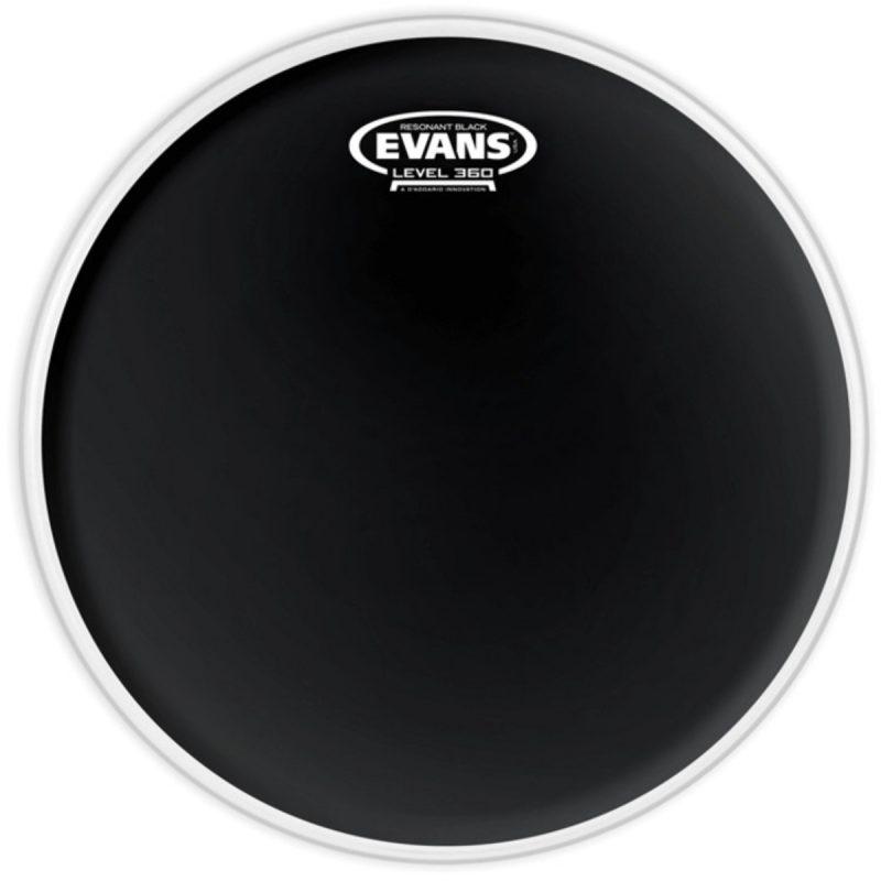 Evans Resonant Black 12in Tom Head