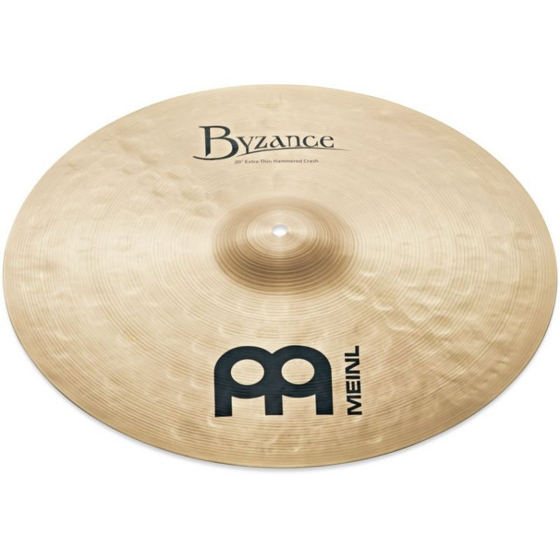 Meinl Byzance Traditional 18in Extra Thin Hammered Crash