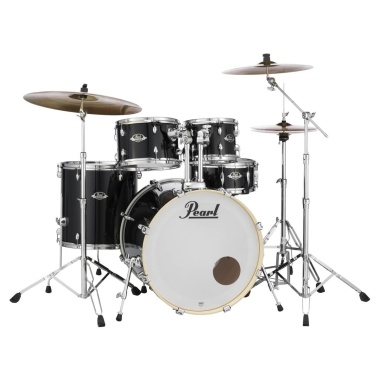 Pearl Export EXX 5pc 22in American Fusion Kit w/Sabian SBR Cymbals – Jet Black