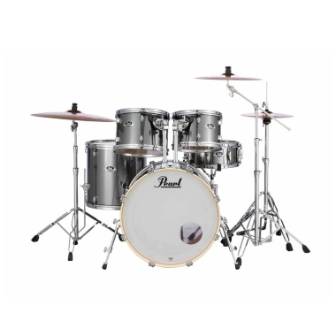 Pearl Export EXX 5pc 20in Fusion Kit w/Sabian SBR Cymbals – Smokey Chrome