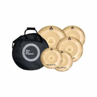 Istanbul Xist Power Cymbal Set w/FREE 18in Crash & Case