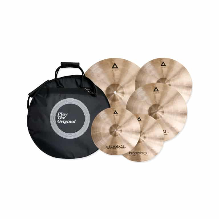 Istanbul Agop XIST Regular Cymbal Set with Free 18in Crash and Bag