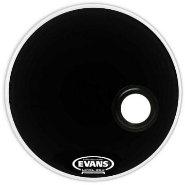 Evans EMAD 26in Black Resonant Bass Drum Head