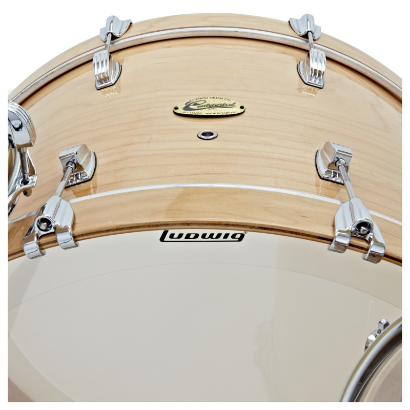 Ludwig Centennial Zep Set 26in 4pc Shell Pack – Natural Maple