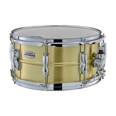Yamaha Recording Custom 13×6.5in Brass Snare