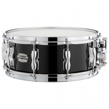 Yamaha Recording Custom 14×5.5in Birch Snare – Solid Black