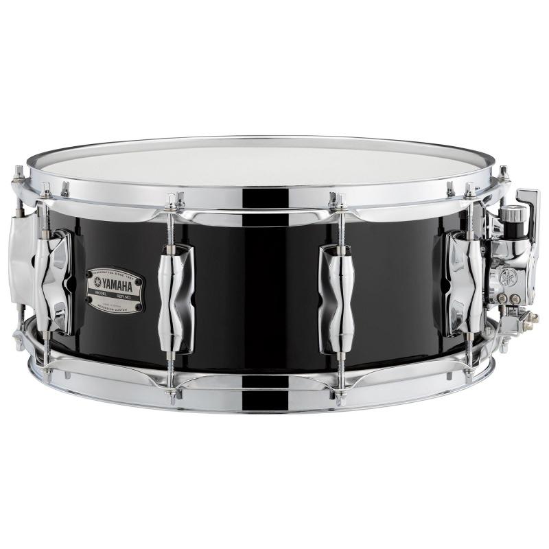 Yamaha Recording Custom 14×5.5in Birch Snare – Solid Black