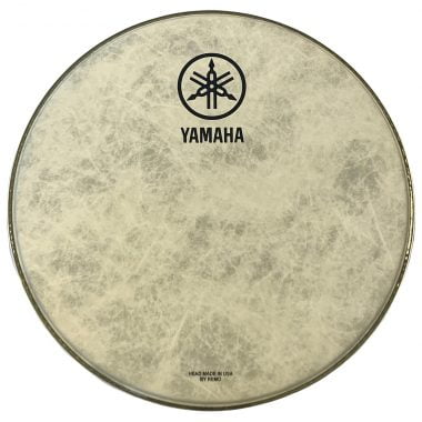 Yamaha Powerstroke 3 Fiberskyn 22in Logo Head by Remo