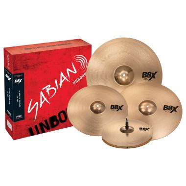 Sabian B8X Performance Set with FREE 18in Thin Crash