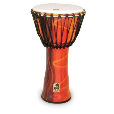 Toca Synergy Freestyle 12in Djembe – Fiesta Red