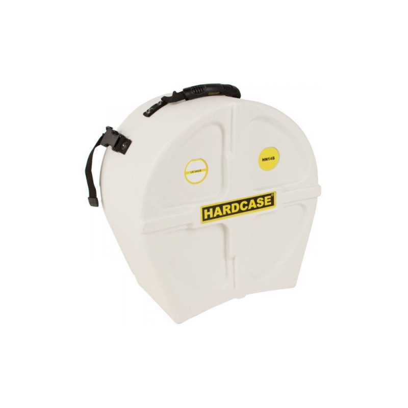 Hardcase 14in White Snare Case