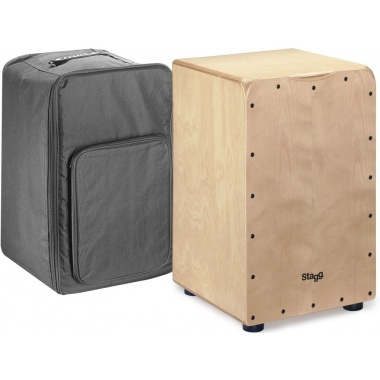 Stagg CAJ-50M N – Natural Cajon with Bag