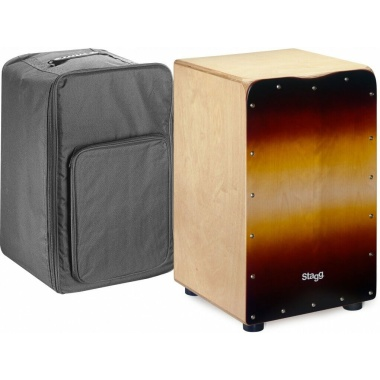 Stagg CAJ-50M SB – Sunburst Cajon with Bag