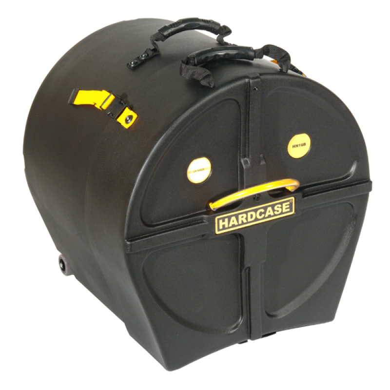 Hardcase 16in Bass Drum Case with Wheels
