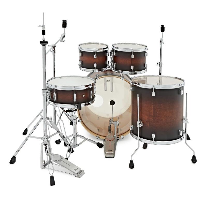 Pearl Decade Maple 22 Fusion 5pc Kit – Satin Brown Burst