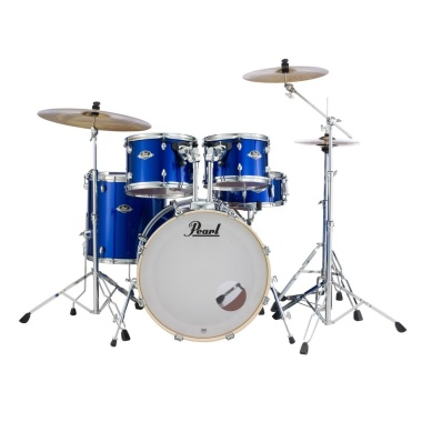 Pearl Export EXX 5pc 20in Fusion Kit w/Sabian SBR Cymbals – High Voltage Blue