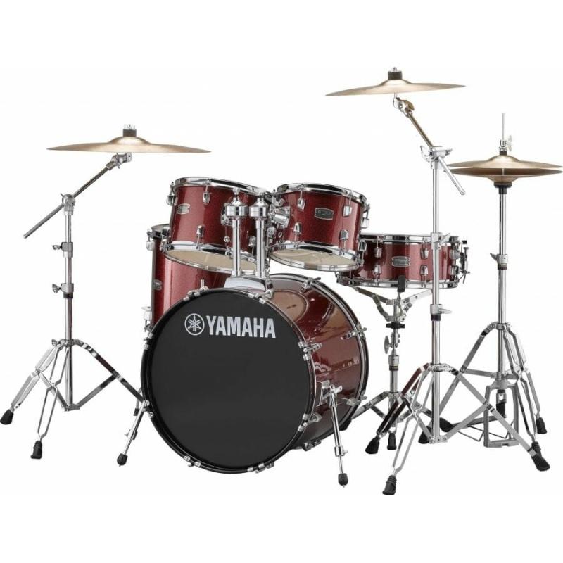 Yamaha Rydeen 20in 5pc Kit – Burgundy Glitter With Paiste Cymbals