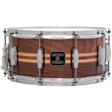 Gretsch Full Range 14×6.5in Walnut with Maple Inlay Snare