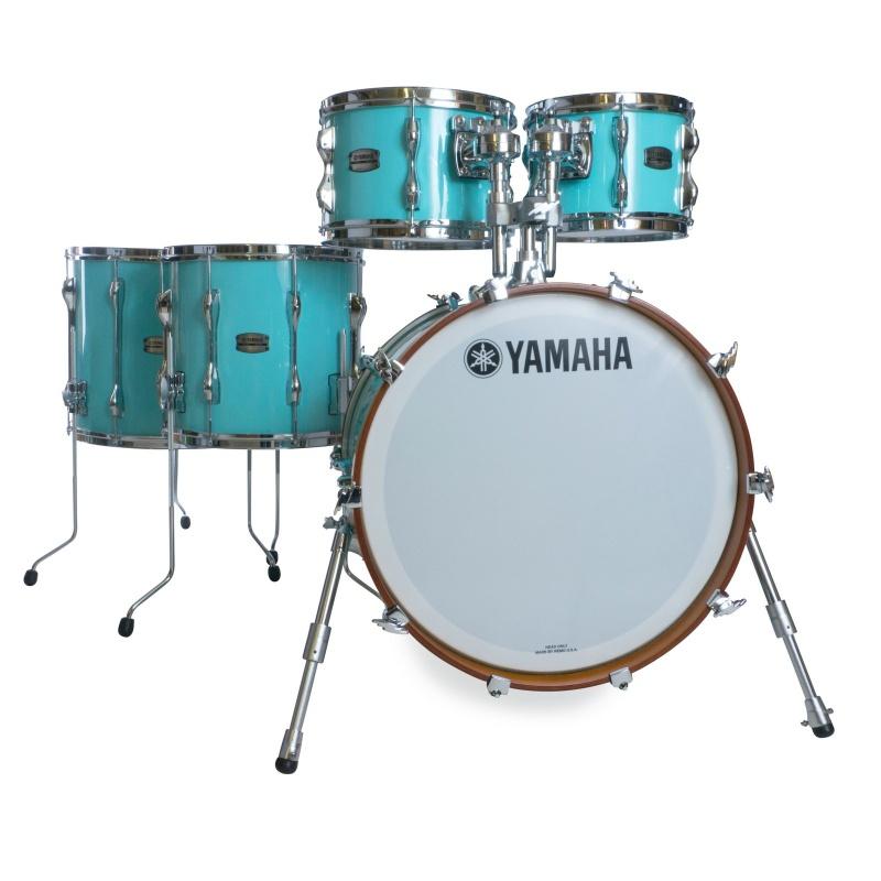 Yamaha Recording Custom 5pc 20in Shell Pack – Surf Green
