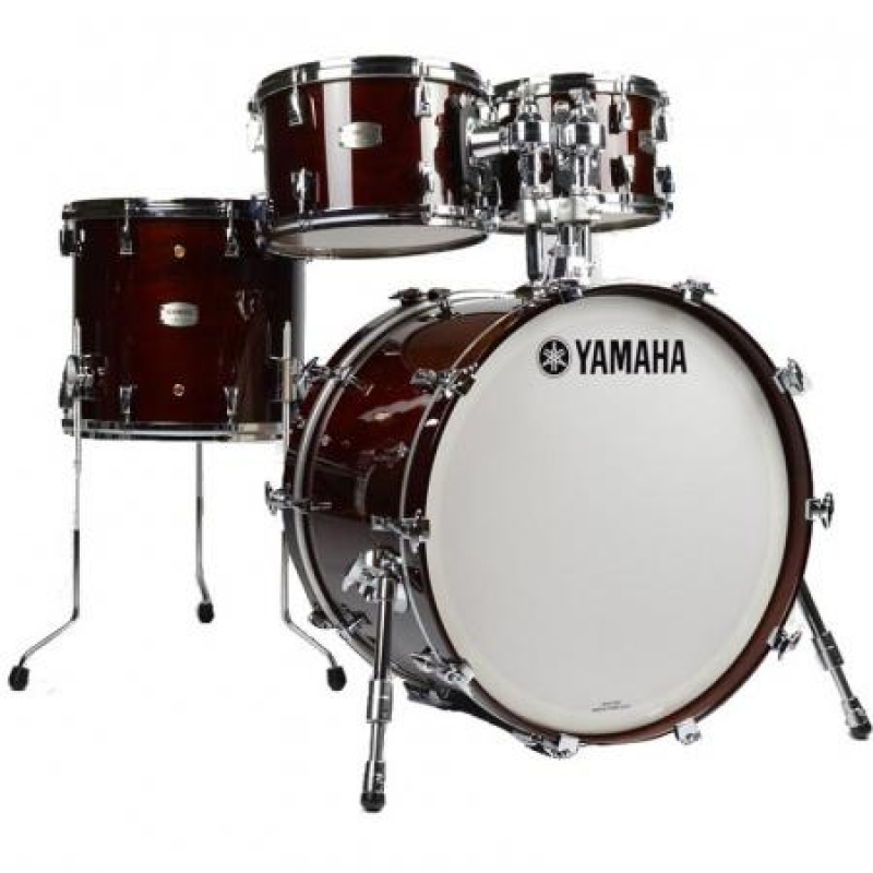 Yamaha Absolute Hybrid Maple 22in 4pc Shell Pack – Classic Walnut