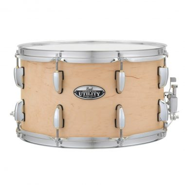 Pearl Modern Utility 14x8in Maple Snare – Matte Natural