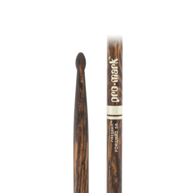 ProMark Classic Forward 5A FireGrain Hickory Drumsticks TX5AW-FG – Wood Tip