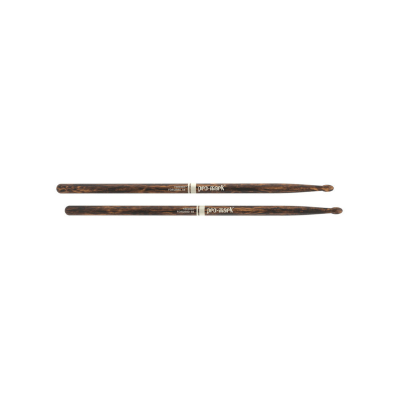 ProMark Classic Forward 5B FireGrain Hickory Drumsticks TX5BW-FG – Wood Tip