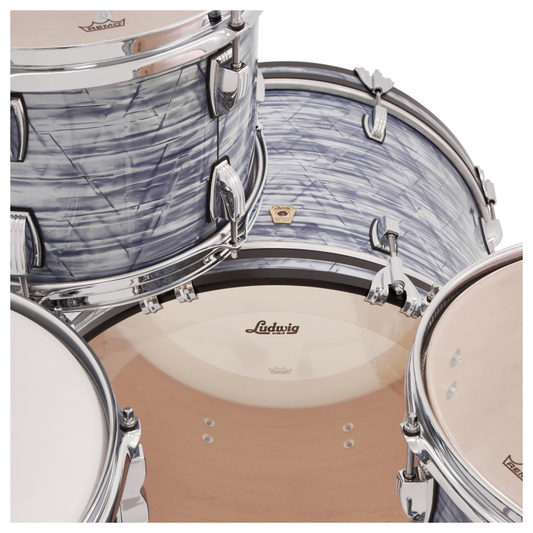Ludwig Classic Maple 20in Downbeat Shell Pack – Sky Blue Pearl