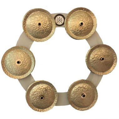 Big Fat Snare Drum Bling Ring – White Copper