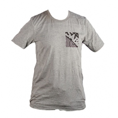 Sabian Grey T-Shirt With Pocket Logo – Small
