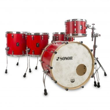 Sonor SQ1 Series 3pc 22 Shell Pack – Hot Red