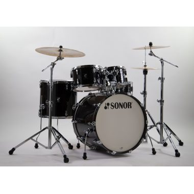Sonor AQ2 Stage Set 5pc Shell Pack – Transparent Stain Black