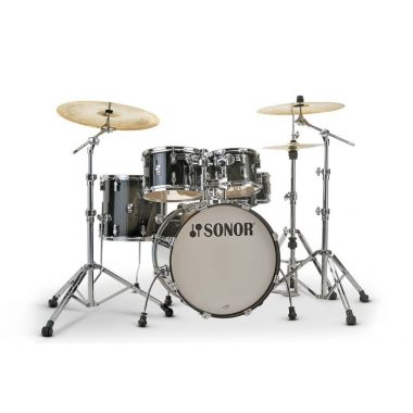 Sonor AQ2 Studio Set 5pc Shell Pack – Transparent Stain Black