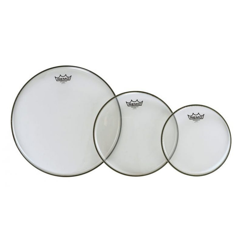 Remo Ambassador Clear American Fusion Head Tom Pack