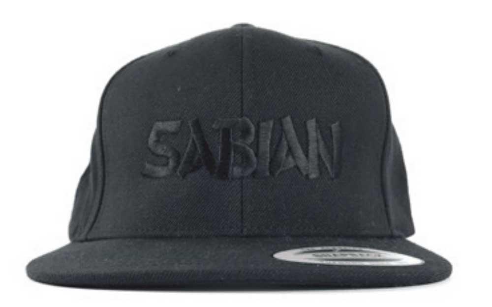 771f9832fd3 Sabian Black Snapback Baseball Cap with Sabian Logo – Drummers Only