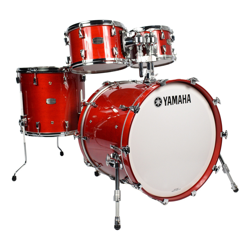 Yamaha Absolute Hybrid Maple 22in 4pc Shell Pack – Red Autumn