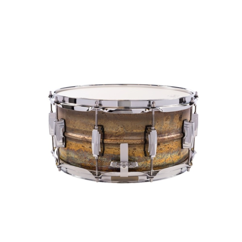 Ludwig Raw Brass 14×6.5in Supraphonic Snare Drum – LB464R