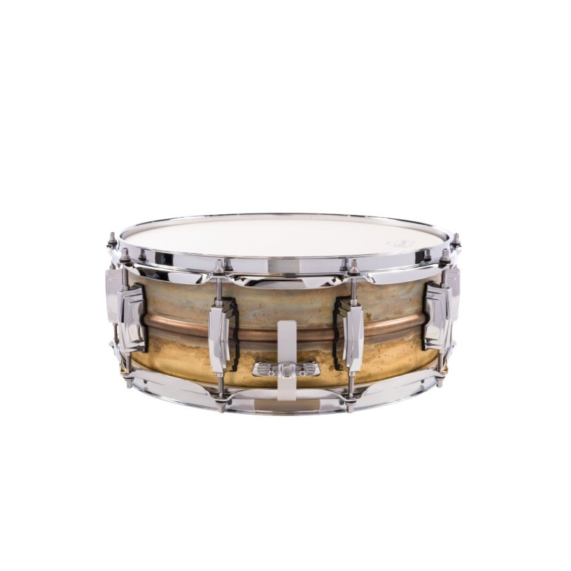 Ludwig Raw Brass 14x5in Supraphonic Snare Drum – LB454R
