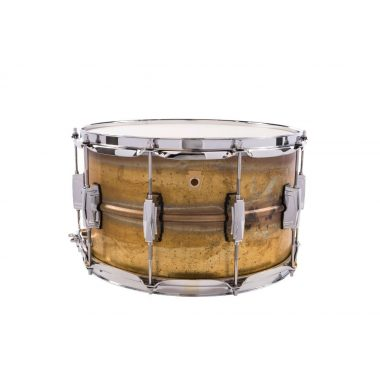 Ludwig Raw Brass 14x8in Supraphonic Snare Drum – LB484R