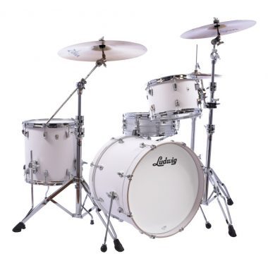 Ludwig NeuSonic Series 20in 3pc Shell Pack – Aspen White