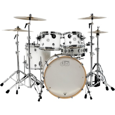 DW Design Series 22in 4pc Shell Pack – Gloss White